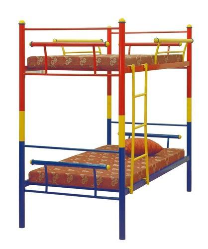 Furniturekraft Blue And Red Double Bunk Bed Size 989 X 2005 Mm Rs