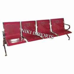 Airport Sofa 4 Seater Powder Coated