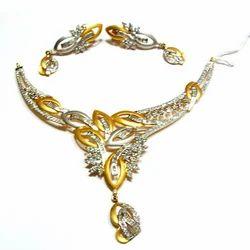 Designer Gold Necklace Sets