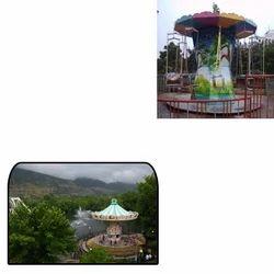 Mini Swing Carousel for Amusement Parks