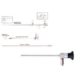 Outer Sheath and Obturator for Hysteroscopy