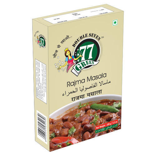 77Green Rajma Masala 50g, Rs 35 /piece, Vitagreen Products ...