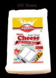 Agroha Fresh Block Cheese 500 Grams/cheese Cottage