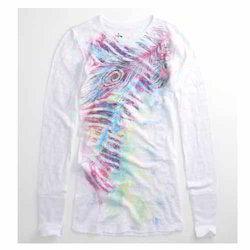 Trendy Sublimation Print T Shirt