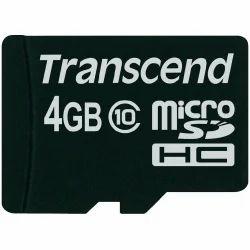 4 GB Micro SD Card Transcend