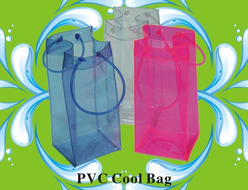 Transparent & Multi Color PVC Bags