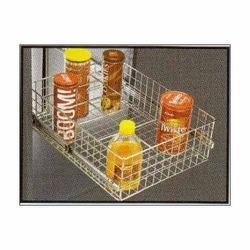 SS Bottle Rack Basket