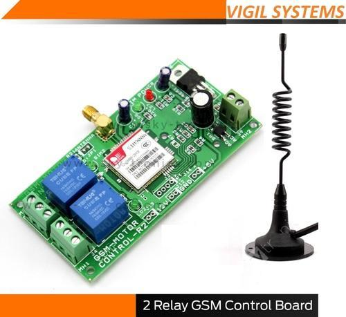 GSM Base On and Off Systems - GSM Control Board with 2 relay