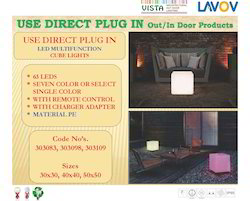 LED PU Plug in Garden Light