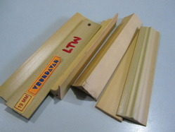 Light Teak Wood PVC Profiles