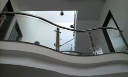 Stainless Steel Decorative Handrail Work