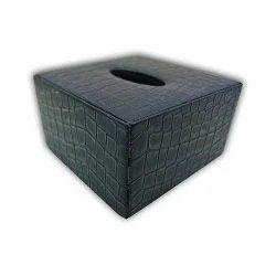 Black Mini Tissue Box