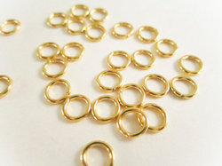 Gold Vermeil Sterling Silver Jump Ring