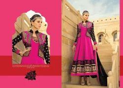 Women Tussar Silk Indo Western Suits