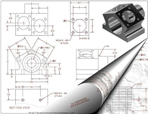 Part Modelling , Drafting , Plant And Building Layout in Ambattur ...
