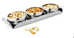 3 Pcs Belly Bowl with Tray