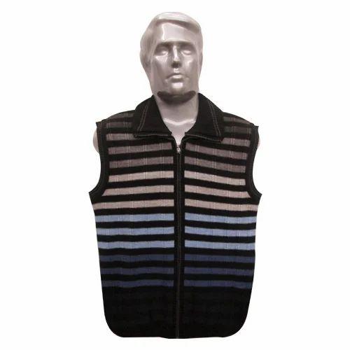 Mens Sleeveless Sweater Mens Zip Sweater Manufacturer