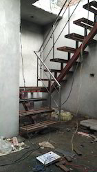 Metal Stairs with Staircase