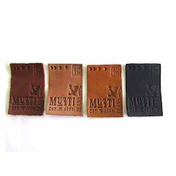 Leather Embosed Labels