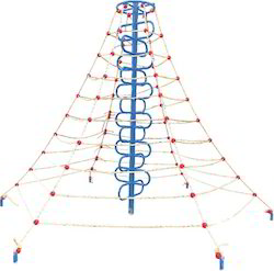 Pyramid Net Climber Playground Equipment