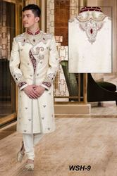 Men Heavy Work Sherwani