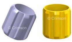 Solid Rigid Centralizer Straight Vane