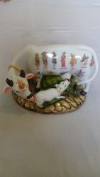 Marble Cow And Calf Marble Decorative