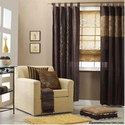 curtains dry woven exporter from noida