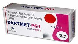 Glimepride 1 mg Metformin 500 mg & Pioglitazone 15 mg