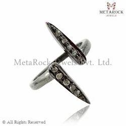 Pave Diamond Designer Band Ring