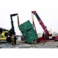 Heavy Machine Unloading Service