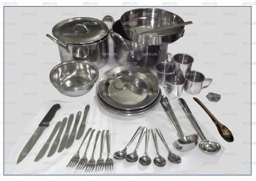 Kitchen Set Unhcr Type B In Stainless Steel Un Ss01 Gst