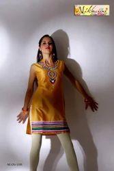 Fashion Style Western Style Party Wear Tunic Kurti