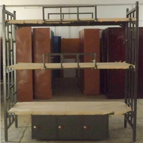 Three Tier Bunk Bed At Rs 8200 Piece S Bunk Beds Online ब क