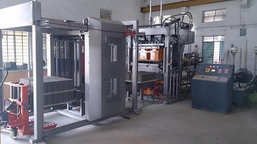 Automatic Color Paver Block Making Machine