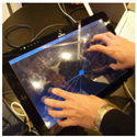 Glass Led Multi Touch Touch Screen, Size: 15