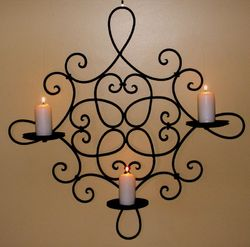 Candle Pillar Sconce