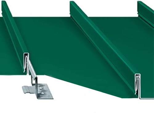 Standing Seam Sheet स्टैंडिंग सीम रूफ स्थायी सीम छत