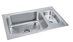 Steel Kitchen Sink With Mini Bowl