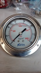 Side Or Back Mounted Eco Pressure Gauge