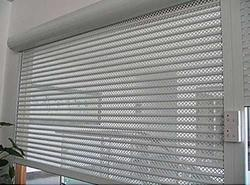 Galvanized Perforated Shutters