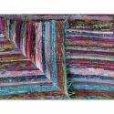 Handloomed Rag Rug Chindi Rugs Carpet