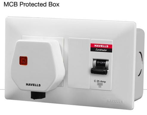 MCB Protected Socket