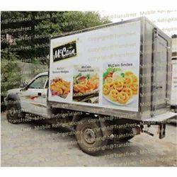 Frozen Food Refrigerated Vans