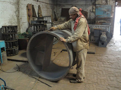 Axial Flow Fan in Fabrication Stage