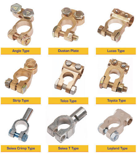 Brass Battery Terminals - View Specifications & Details of