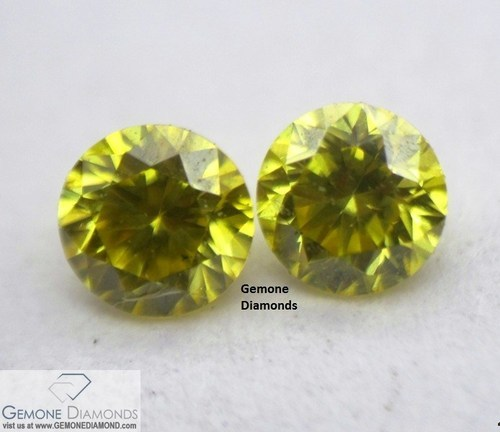 ed9e97b996 Gemone Diamond Natural Loose Vivid Yellow Color Diamond, Size: 0.01 carat  to 0.12 carat