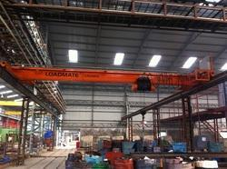 Yellow And Green Single Girder Cranes