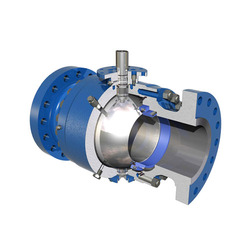 Trunnion Mounted Ball Valves Exporter From Ahmedabad