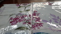 Floral Printed Double Bed Sheets (set Of 10)